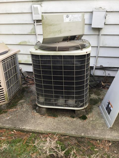 Waynesville, OH - Upon arrival noticed the Carrier heat pump that was responsible for the first floor was frozen. Tested defrost board, however was unable to force system into defrost mode. Contacted office and was advised due to the age of the system they were unable to locate any replacement parts defrost. Advised customers mother and she will speak with the home owners and let us know how they want to proceed