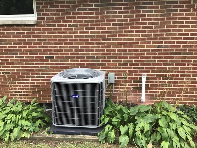 Yellow Springs, OH - Tune Up & Safety Check on a 2019 Carrier Air Conditioner.