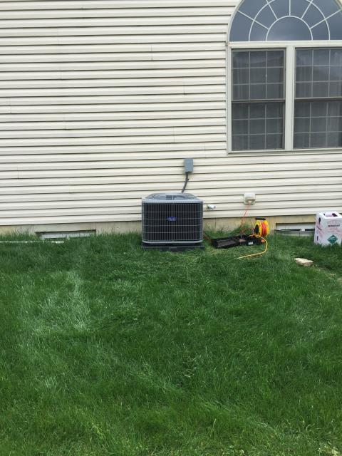 Huber Heights, OH - Performed Five Star tune up and safety check on a 2019 Carrier AC unit. Unit tested within specifications and working as should.