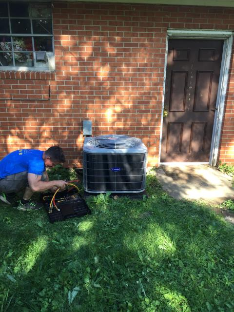 Dayton, OH - Performed Five Star tune up and safety check on a 2019 Carrier AC unit. Unit tested within specifications and working as should.