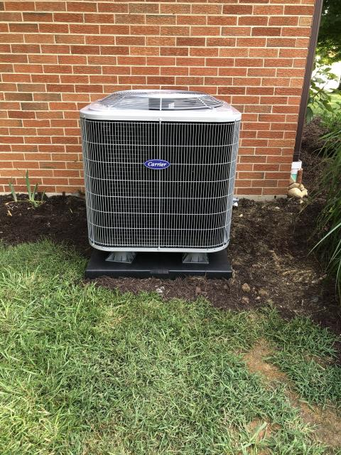 Xenia, OH - Customer advised unit was freezing up and turning to ice at indoor coil. After checking airflow and cleaning outdoor unit. Pressures were checked and system was low. Discussed options with customer, customer has opted to purchase a new system. R22 was added to keep the customer cooling until installation. Price will be taken off of the new system.