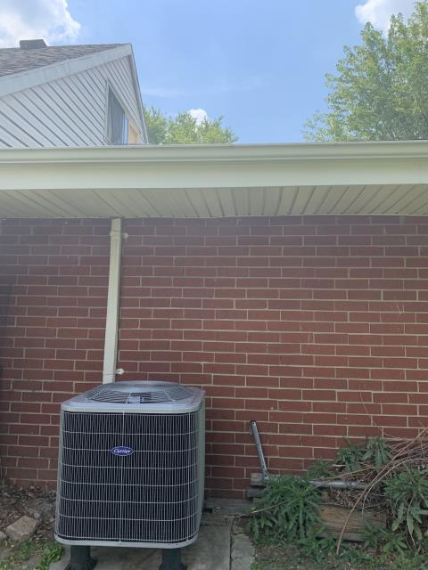 Xenia, OH - I installed a new  Five Star Multi-Speed 2 Ton Electric Furnace / Fan Coil & Carrier 14 SEER 2 Ton Heat Pump.