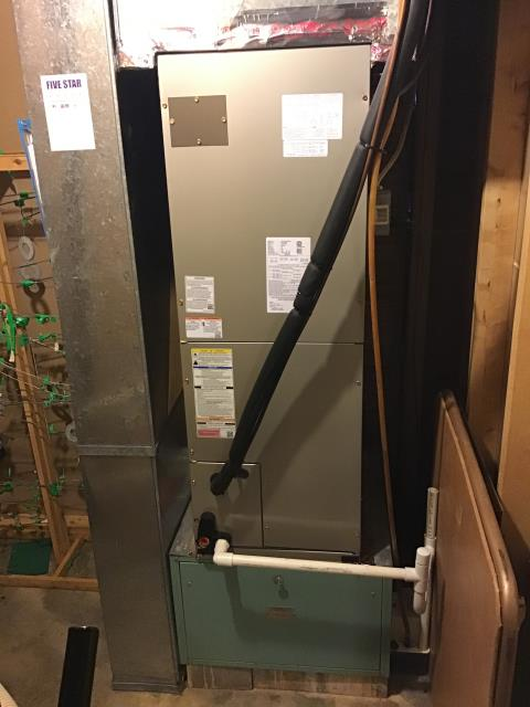 Wilmington, OH - 	I am Performing our Five Star Tune-Up & Safety Check on a  2019 Electric Furnace. All readings were within manufacturer's specifications, unit operating properly at this time.