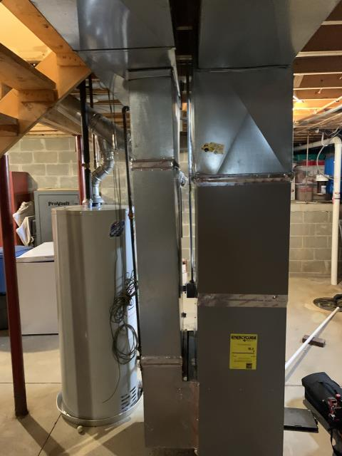 Cedarville, OH - 	I am Performing our Five Star Tune-Up & Safety Check on a   Gas Furnace. All readings were within manufacturer's specifications, unit operating properly at this time.
