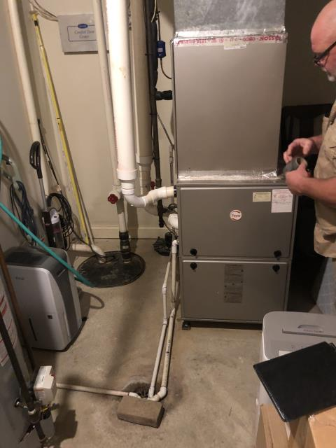 Wilmington, OH - Measurements and photos obtained for install