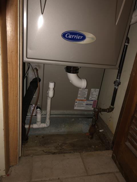 Wilberforce, OH - I installed a Carrier 96% Two-Stage 80,000 BTU Gas Furnace with a Carrier 14 SEER 2.5 Ton Heat Pump.