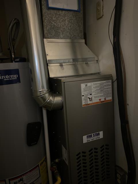 "Xenia, OH - I installed a Five Star 80% 70,000 BTU Gas Furnace 3T 14"""