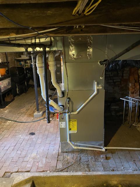 Yellow Springs, OH - I installed a Five Star 96% Two-Stage 100,000 BTU Gas Furnace.