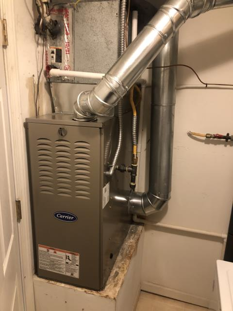 Centerville, OH - I completed a diagnostic on a 1997 York Gas Furnace. Determined that they don't make replacement parts for this system, customer purchased new furnace instead