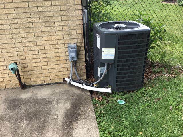 Dayton, OH - I completed the scheduled maintenance agreement heating tune up on a heat pump .  I visually inspected the furnace.  Checked voltages, amps and temperature rise.  Inspected heat pump.  Checked voltages and amps.  Cycled and monitored both systems.   Operating normally at this time.