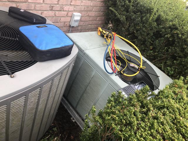 Dayton, OH - I completed a diagnostic on a Air Conditioner. I determined that disconnect was shut off and system was low on charge. I added charge and system was operational at time of departure.