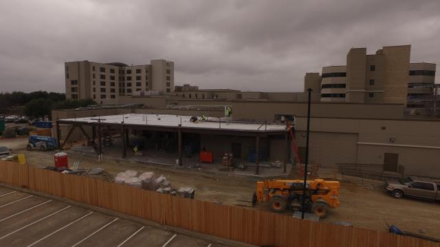 Plano, TX - Medical City Plano – New Expansion – Carlisle Syn Tec – 60 Mil TPO