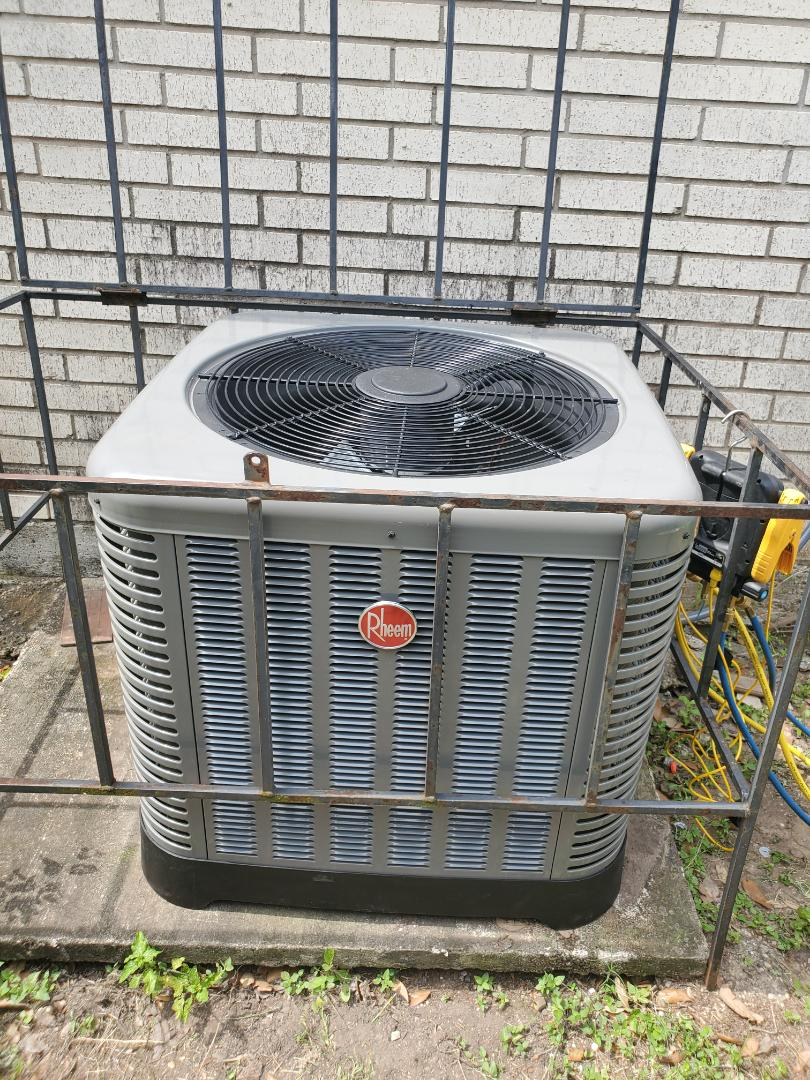 Pharr, TX - INSTALLED New Rheem 2.5 ton system. Financing Available!!