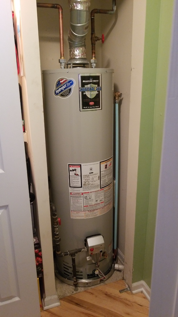 Chicago, IL - Hot Water Tank, Chicago