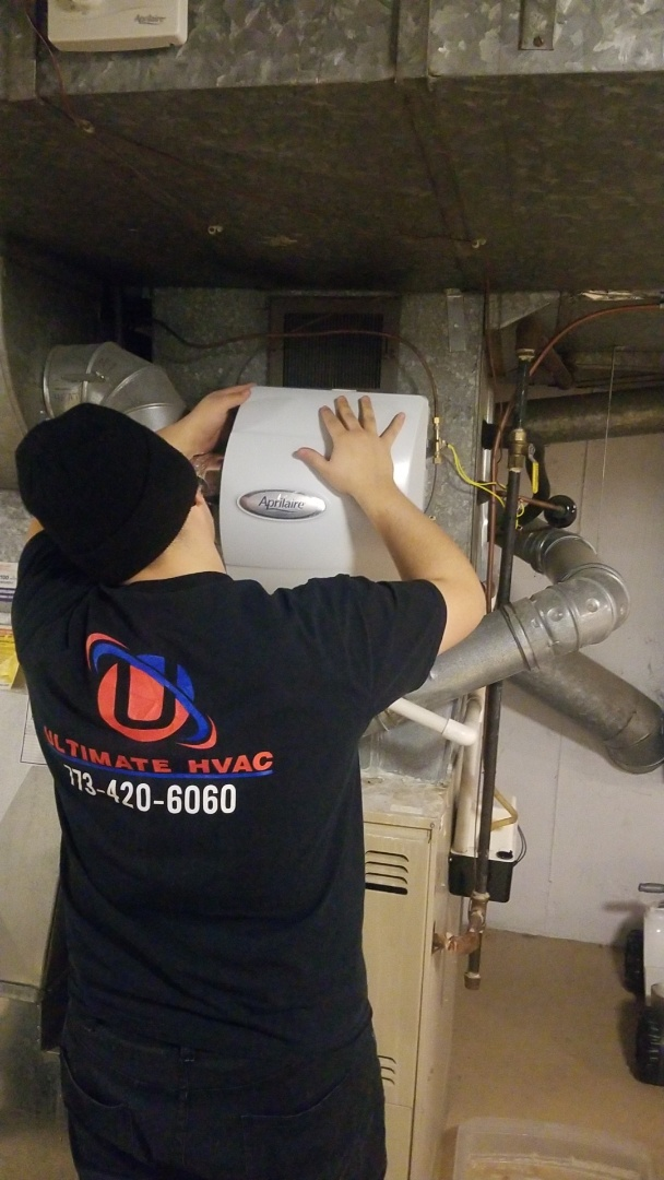 Winnetka, IL - Install new humidifier
