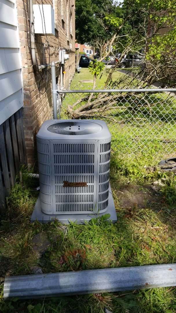New a/c  install
