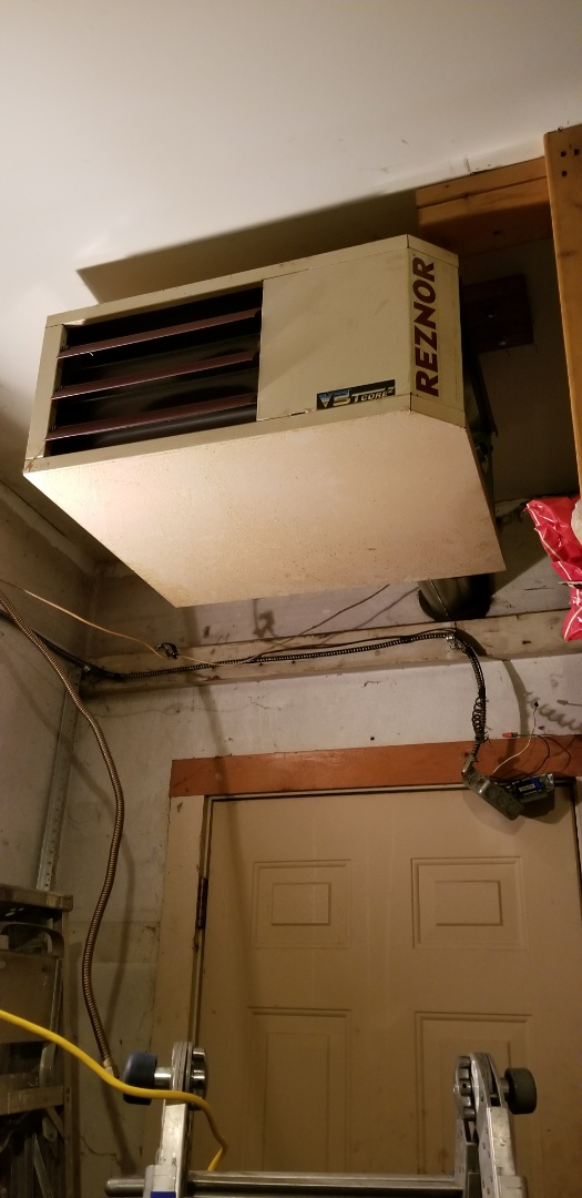 Garage Heater Installation
