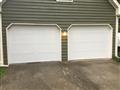 Installing two CHI 5283 9'x7' garage doors Short panel, carriage stamp. Installing LiftMaster8010 garage door opener. Servicing garage door.