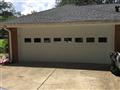 Roswell, GA - Installing CHI 2250 18'x7' garage door with windows. Servicing garage door.