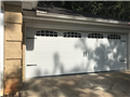 Lilburn, GA - Installing 18'x7' CHI 5251 glazed, white garage door. Installing LiftMaster WLED garage door motor. Programming keypads. Servicing garage door.