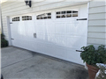 Installing 18'x7' garage door.