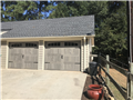 Winder, GA - Installing two driftwood long panel, carriage style doors. Servicing garage doors.