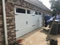 Installing 18'x7' CHI 5250 garage door with new tracks, trim, torsion springs and remotes. Installing LiftMaster 8355W garage door opener.