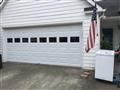 Duluth, GA - Installing one 16'x7' glazed white garage door. Installing LiftMaster 8355W garage door motor.