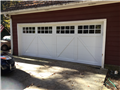 Installing 18'x7' garage door with windows. Installing LiftMaster 8500w motor with two remotes and keypad.