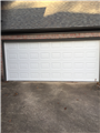 Buford, GA - Installing 16'x7' solid white garage door and torsion springs with upgraded rollers.