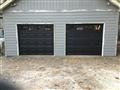 Duluth, GA - Installing two Short Panel Raised garage doors.