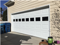 Installing CHI 16'x7' garage door with windows. Installing LiftMaster 8355W garage door opener.