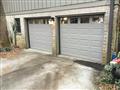 Lawrenceville, GA - Installing two garage doors with windows. Installing LiftMAster WLED garage door motor.