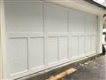 Installing 18'x7'9 overlay garage door. Installing LiftMaster Jackshaft motor.