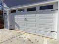 Gainesville, GA - Installing 18'x8' long panel garage door. Installing Liftmaster 8355W garage door opener with two remotes.