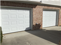 Lawrenceville, GA - Installing two 9'x7' garage doors. Installing two LiftMaster 8010 garage door openers.