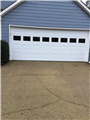 Alpharetta, GA - Installing garage door with windows. Installing operator bracket. Servicing garage door motor.