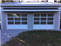 Decatur, GA - Installing two full view glass garage doors.