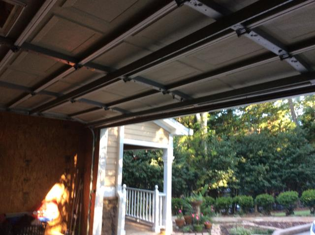 Gainesville, GA - Installed new LiftMaster 8550W & rollers as well as serviced the garage door.