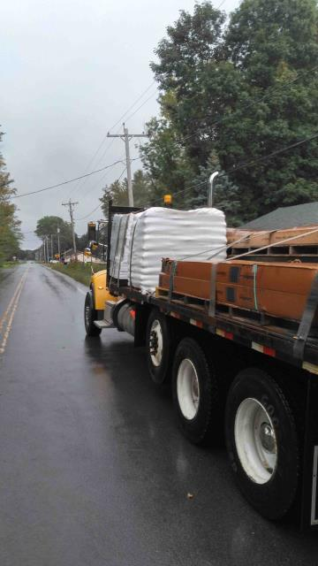Hannibal, NY - Another customer getting prepared for the winter heating months. Hopefully we won't be needing any heat on anytime too soon.