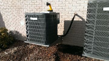 Leesburg, VA - Provided estimate to replace Goodman heat pump system with a Carrier Infinity heat pump.