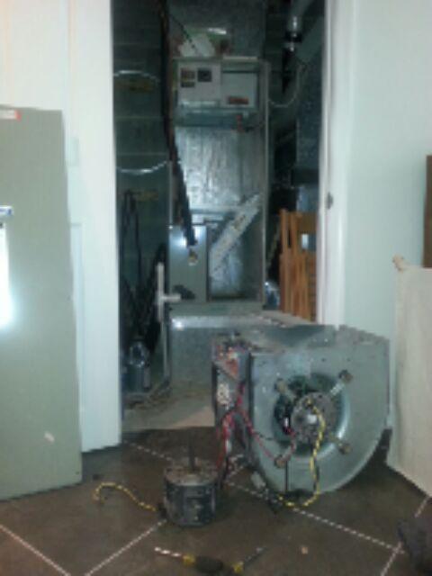 Air conditioning heating repair plumbing springfield va for Bad blower motor symptoms in hvac