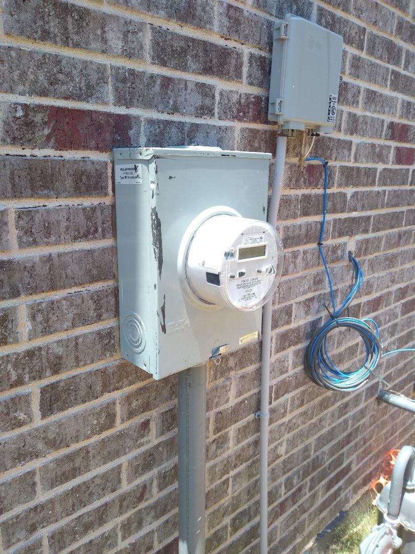 Euless, TX - Fix meter base