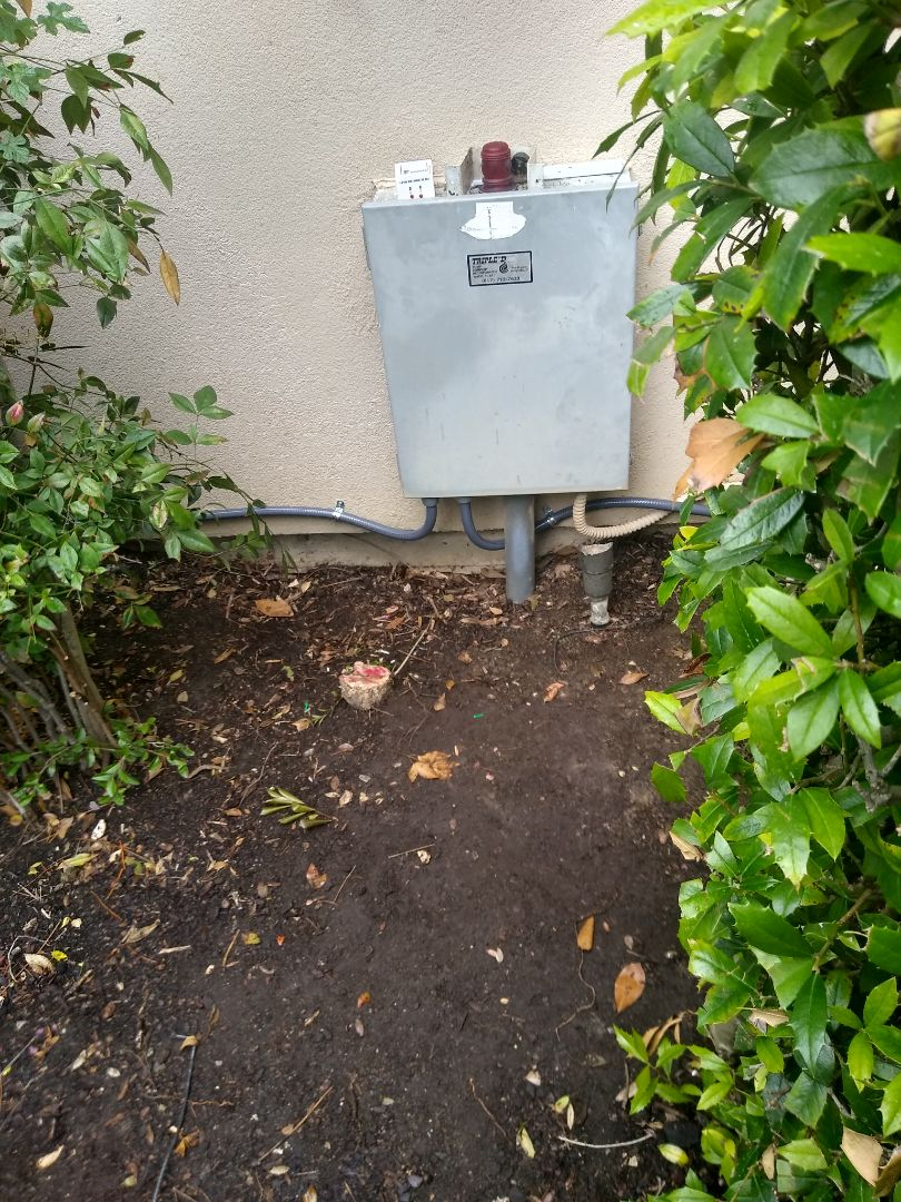 Flower Mound, TX -  Added power for septic system