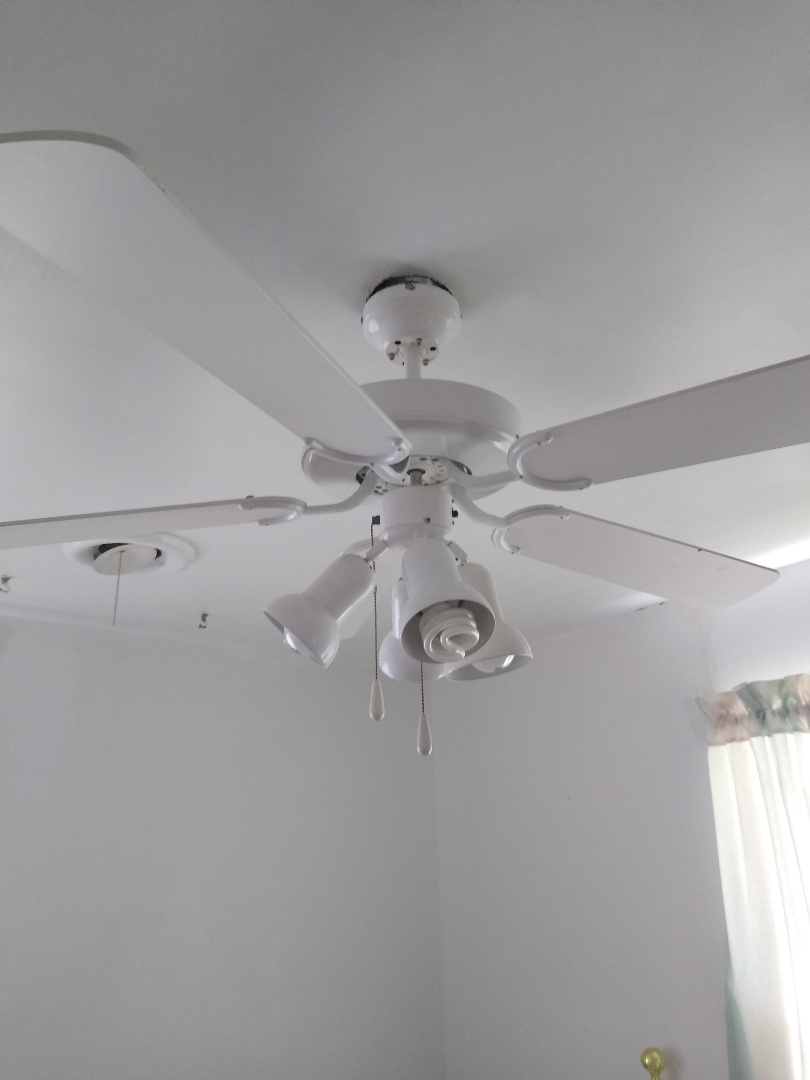 Fort Worth, TX - Reinstalled ceiling fan that the box was not installed correctly