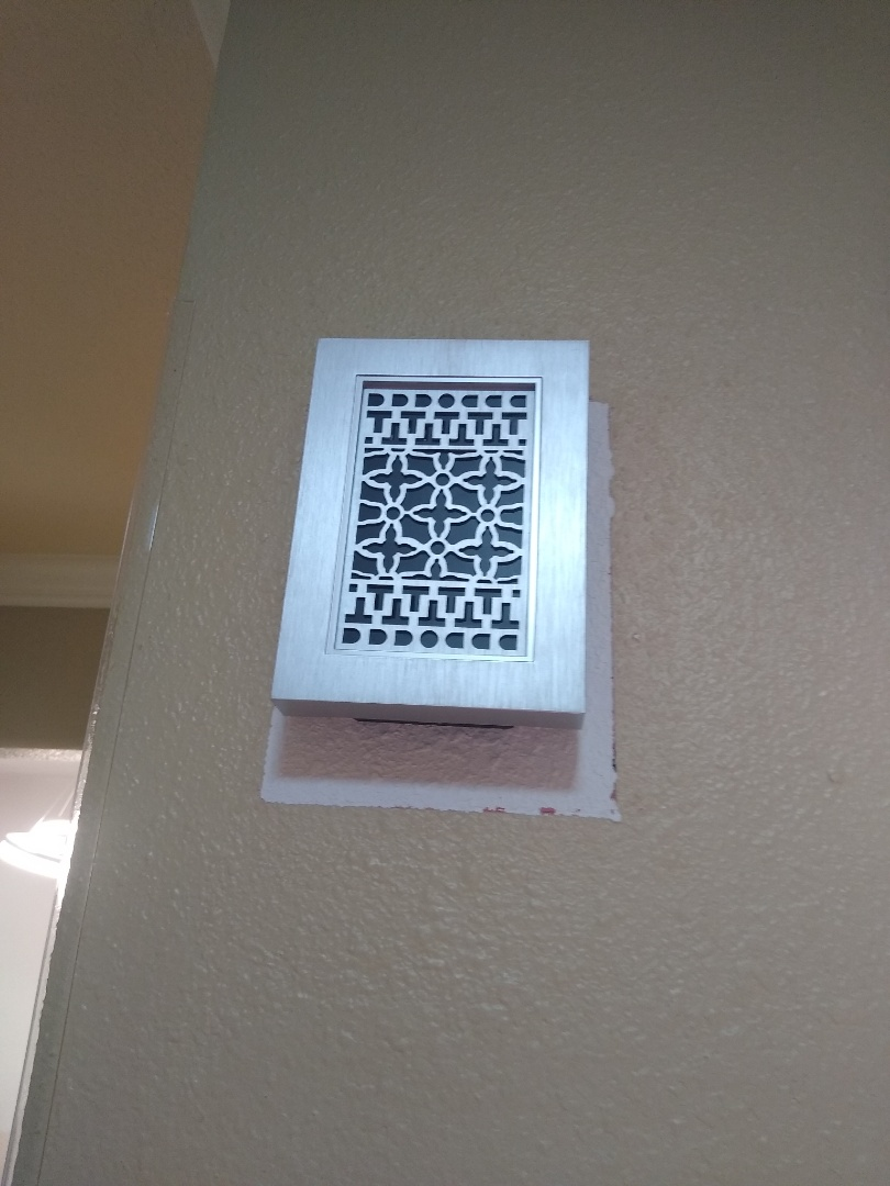 Bedford, TX - Replaced doorbell chime for customer