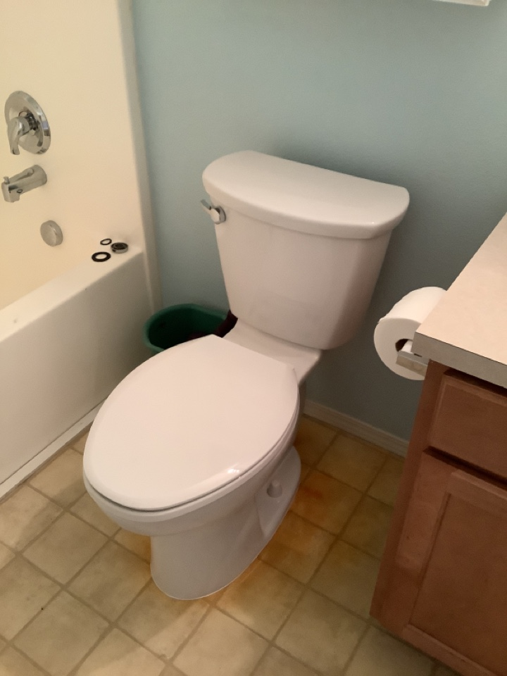 Redmond, OR - Toilet installs (customer will call office as she does not have email or smartphone)