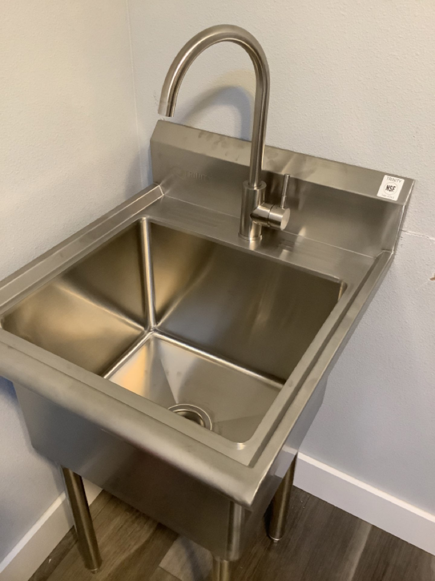 Prineville, OR - Installation of laundry sink and faucet. Installation of new kitchen sink faucet. Installation of lav sink and faucet. New drain and trap. Installation of shower heads and diverter for sprayer. Toilet lever repair.
