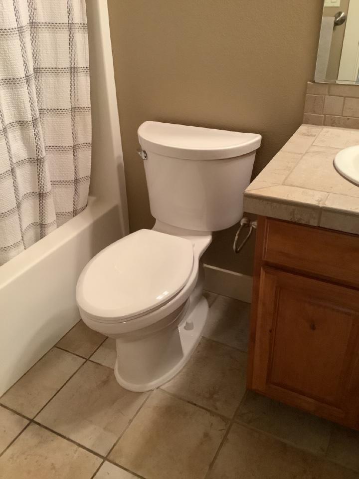 Redmond, OR - New American Standard toilet install!