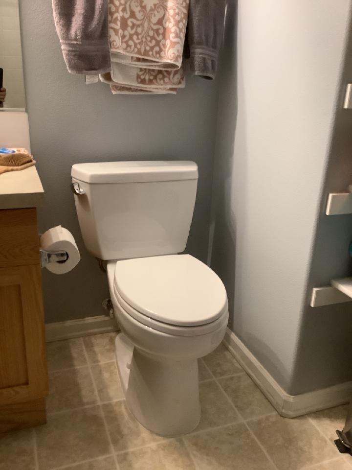 """Redmond, OR - New Toto """"Drake"""" elongated toilet install. Kohler Combo shower head/sprayer install!"""